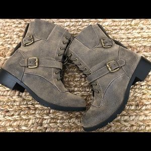 NEW! Ankle Boots with Buckles